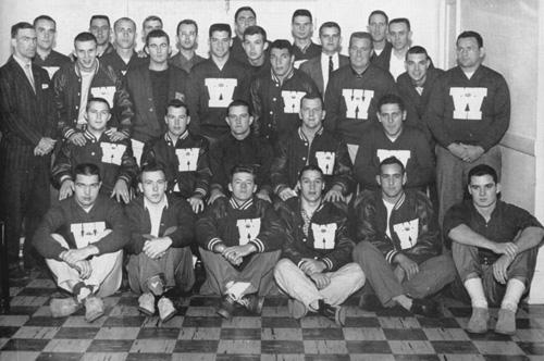 Varsity Lettermen 1959