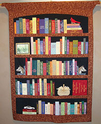 Community Bookshelf Wall Hanging