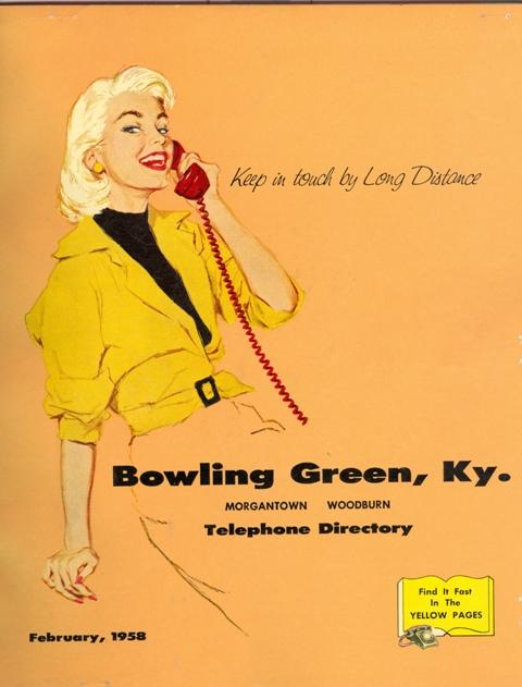 February, 1958 Telephone Directory