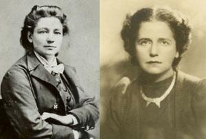 Victoria Woodhull (1838-1927); Emanie Philips (1893-1981)