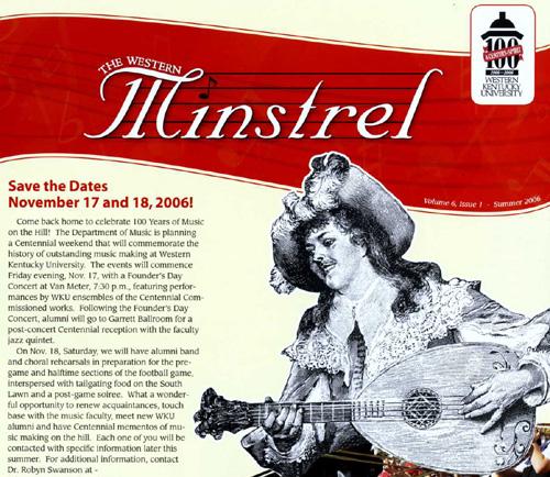 The Western Minstrel