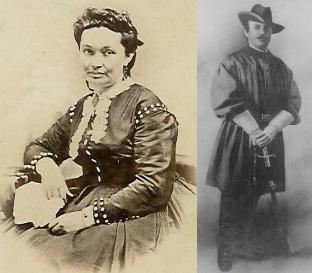 Varina Howell Davis and John Cox Underwood