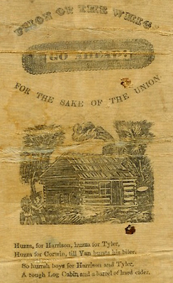 Harrison campaign ribbon, 1840