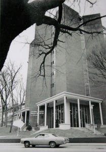 Cravens Library after Construction