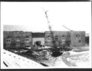 Athletic Building under Construction
