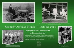 Kentucky Archives Month poster