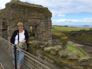 Callahan at Tantallon Castle
