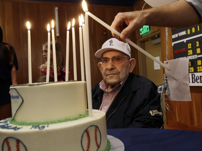 Yogi Berra turned 90 last week