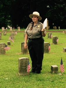 U. S. Park Ranger explains that this is the true grave of the boy honored by the song.