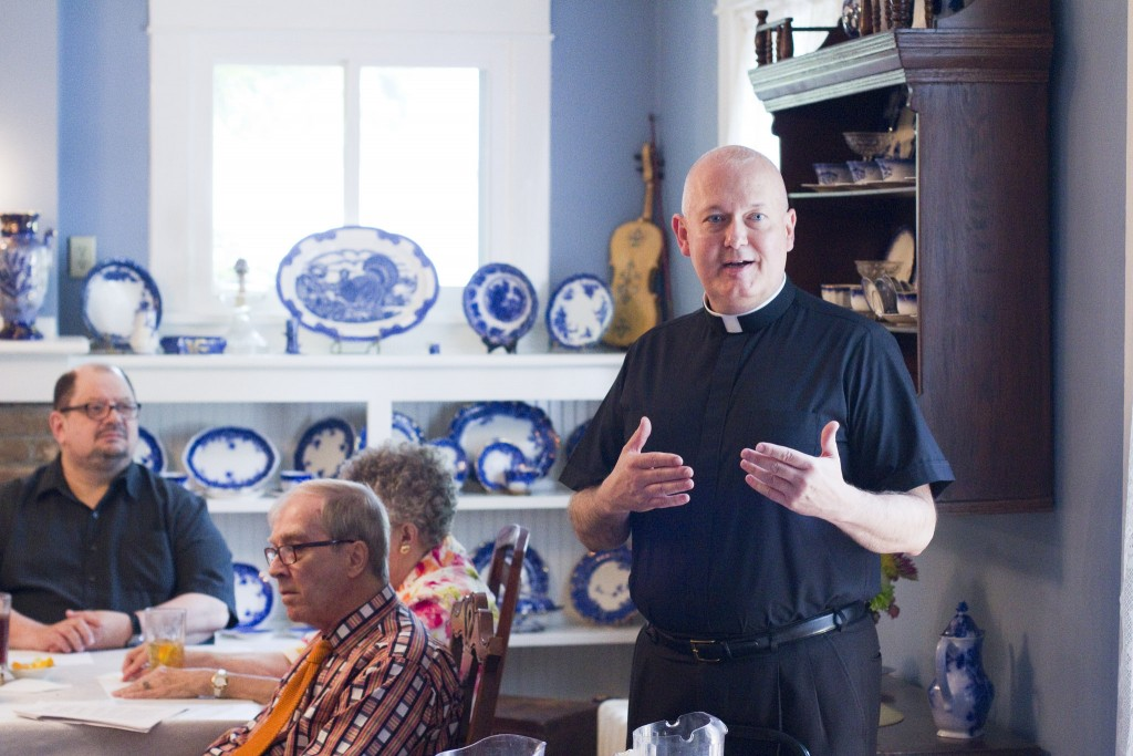 Father Andy Garner, St. Joseph's Catholic Church