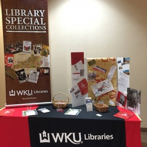 Informing local historians and genealogists about Library Special Collections is a constant goal.