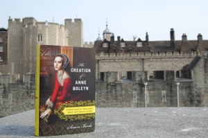 The Creation of Anne Boleyn photographed at the Tower of London, where Anne Boleyn was executed