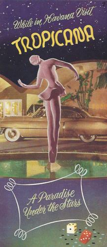 Cuba travel brochure, 1950s