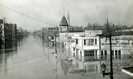 Flooded Louisville, January 1937