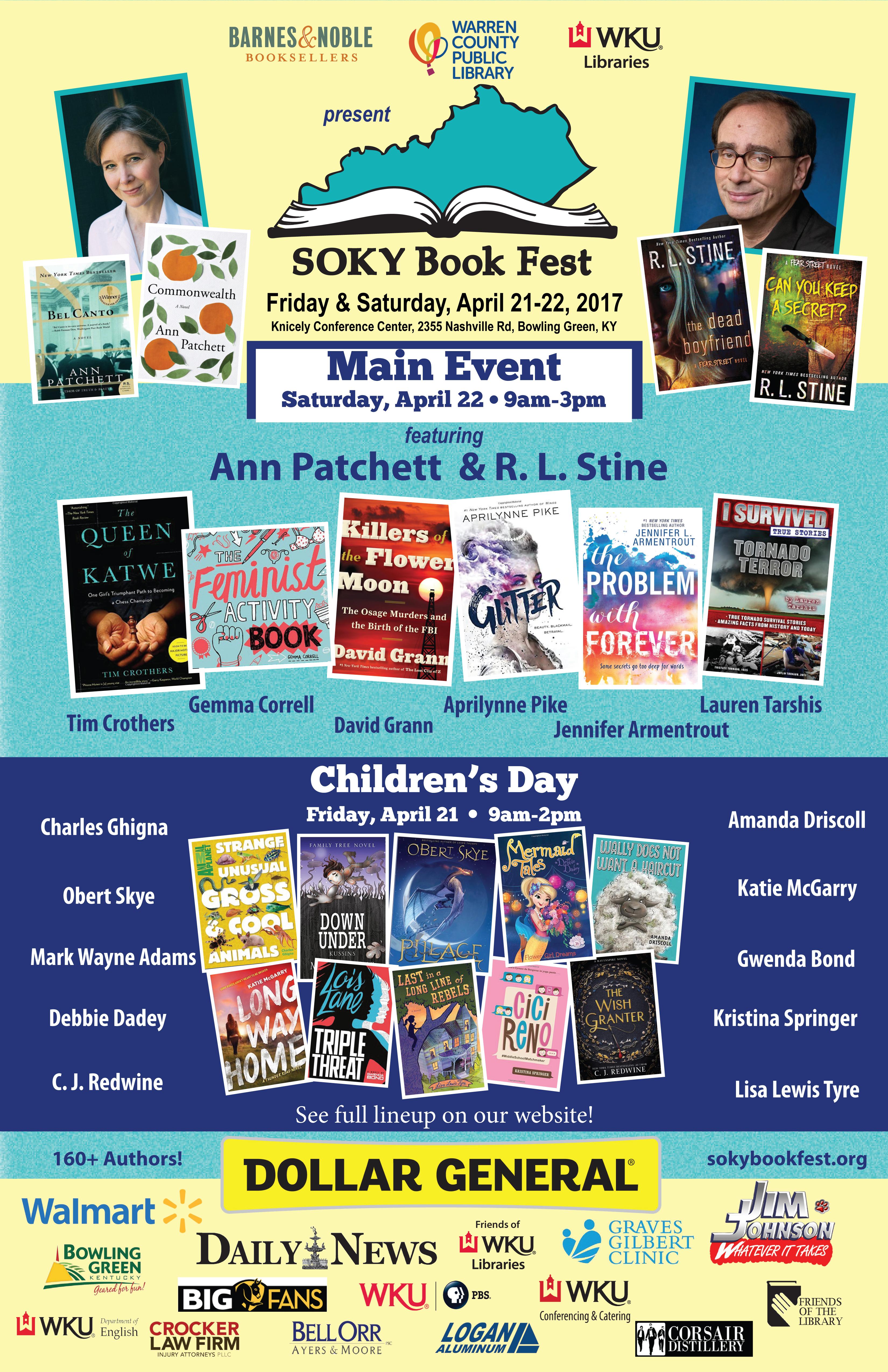 SOKY Bookfest 2017 Poster