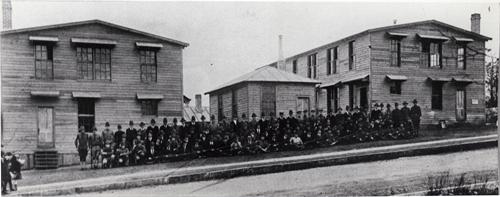 WKU Barracks, 1918