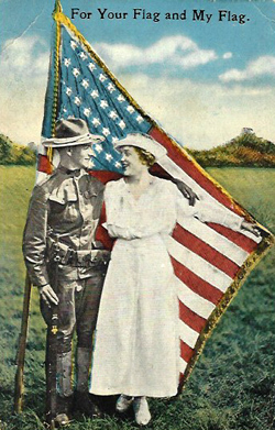 A soldier's postcard (Price Family Collection)