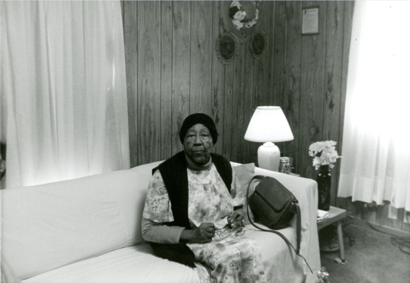 Onie Bakerat her home in Cadiz, Kentucky (October 1995)