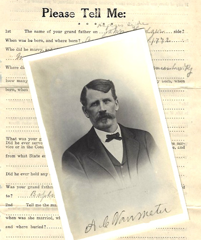 A Van Meter and a questionnaire