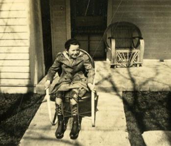 Polio victim Barbara Kiel, Bowling Green