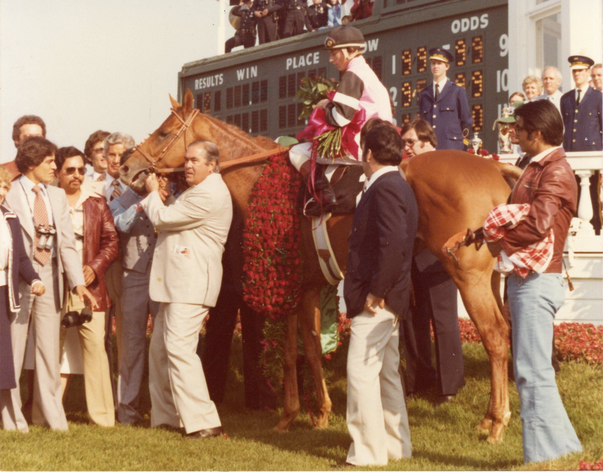 The 1978 Kentucky Derby Winner, Affirmed