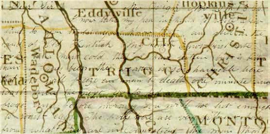 """I am still in the land of Old Kentuck"": Noah Pond from Trigg County, 1836"