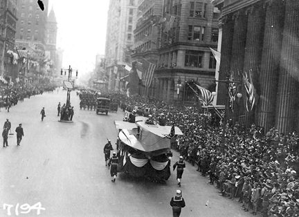 Philadelphia's Liberty Loan parade on Sept. 28, 1918 triggered one of the worst outbreaks of flu in the country.