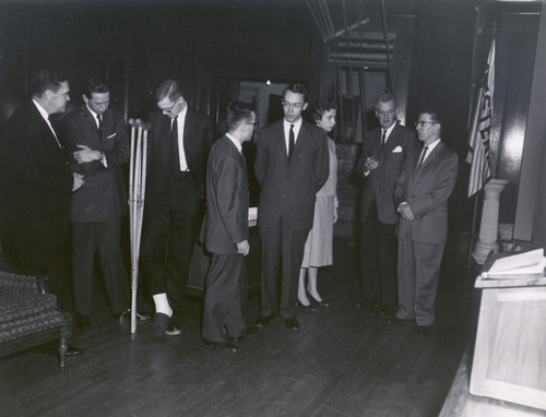 Debate Team at Harvard, 1959