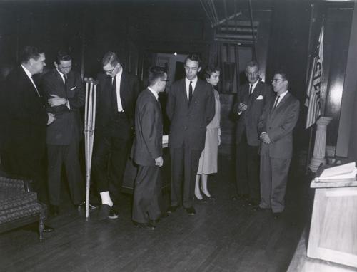 Debate Team at Harvard, 1959