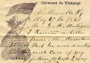 Gilbert Marshall Mulligan's Civil War correspondence