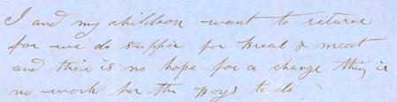 Rachel Eddington letter, 1858