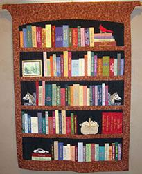 Community Bookshelf Wall Hanging