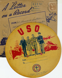 "USO ""Letter on a Record"""