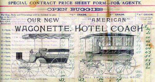 The American Carriage Company, Cincinnati Ohio