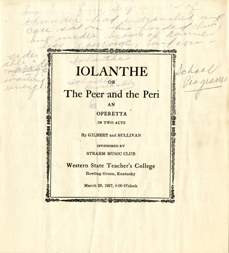 Iolanthe Program