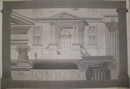 Ingram's Architectural Class Project, 1925