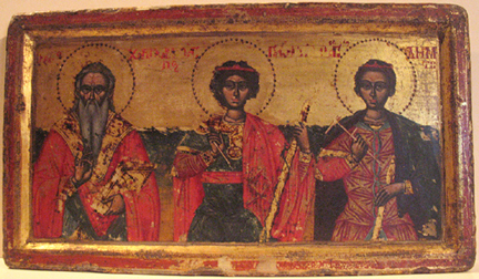 Three Saints icon
