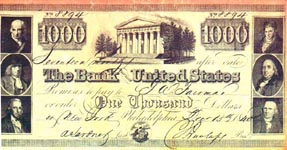 A $1000 note - or is it $100?