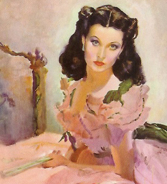 Scarlett O'Hara of Gone With the Wind