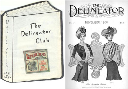 Delineator Club yearbook and its namesake magazine