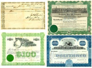 Stock Certificates at the Kentucky Library & Museum