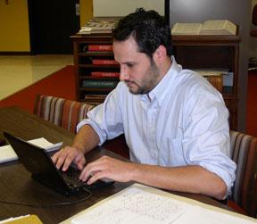 Fellowship recipient Matthew E. Stanley