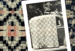 Lou Tate's field work on weaving in Bowling Green