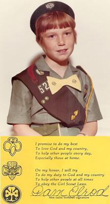 Pam Elrod, Kentucky Girl Scout