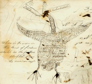 R. S. Griffith's American eagle, 1859
