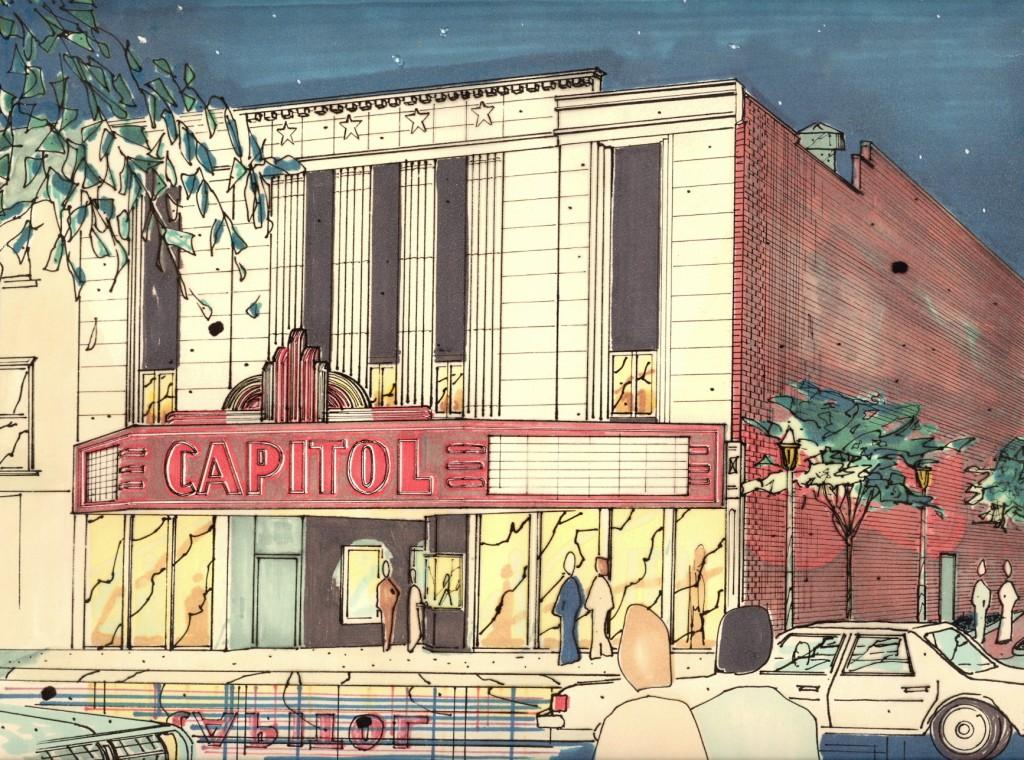 Facade of Capitol Arts Center