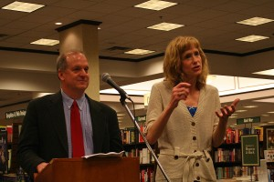 Dr. Julie Bunck and Professor Michael Fowler