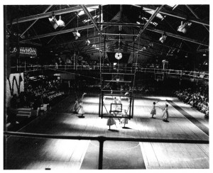 Another view of the Old Gymnasium