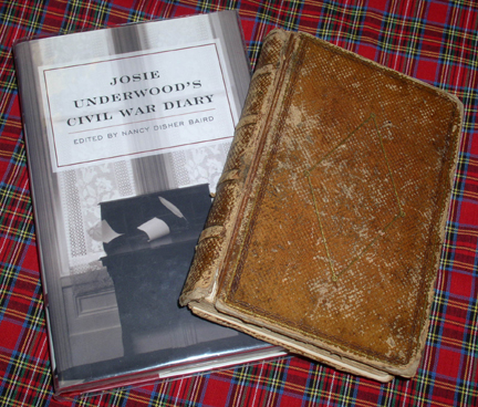Josie Underwood's two diaries (Nancy Baird, editor) have now been published