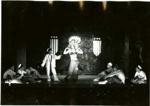 "Leo Burmester ""steals the show"" with a belly dance in South Pacific, 1966/1967"